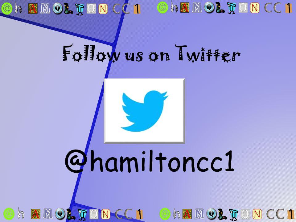 @hamiltoncc1 Follow us on Twitter