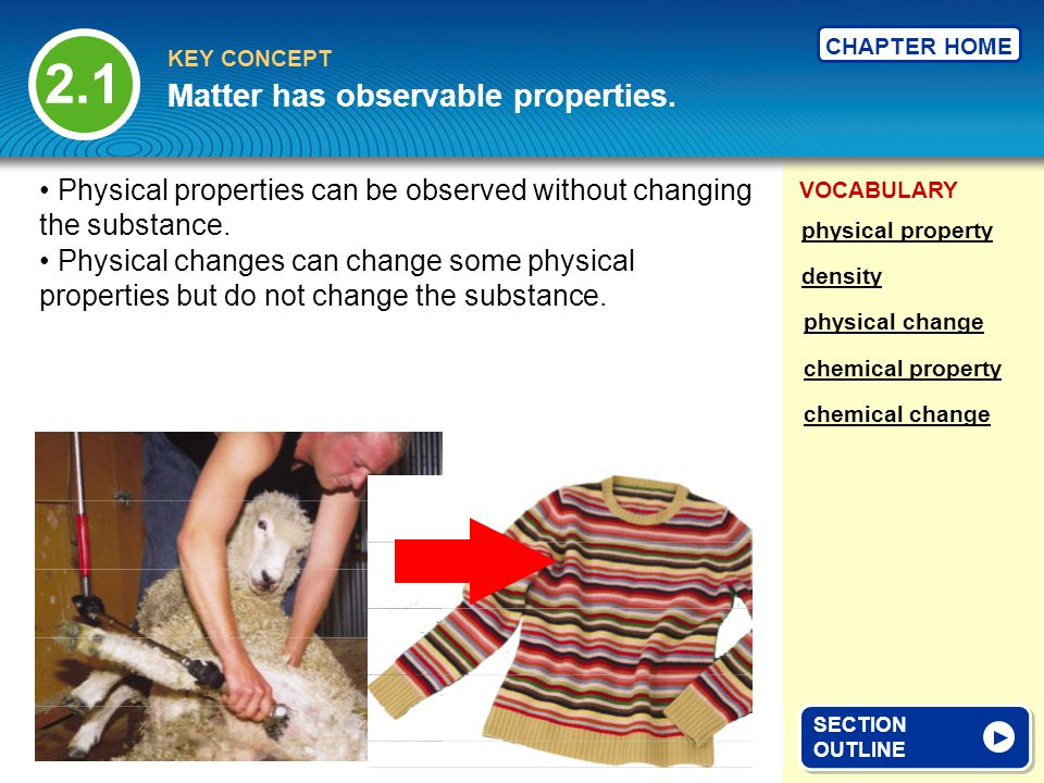 VOCABULARY KEY CONCEPT CHAPTER HOME The temperature at which a substance changes from its liquid state to its solid state through freezing.