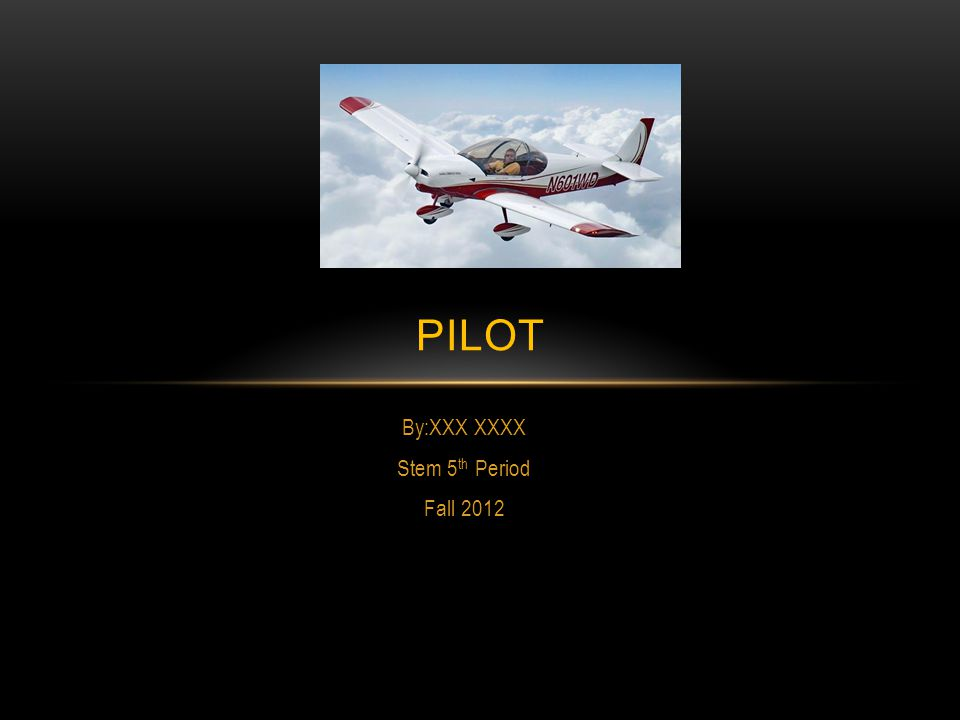 DEFINITION A person duly qualified to operate an airplane, or other aircraft