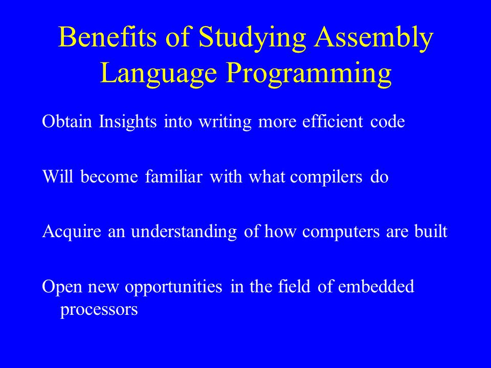 MIPS Assembly Language Programming Bob Britton, Instructor Lesson #4