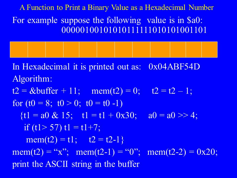 Exercises 4.2 What is the character string corresponding to the following ASCII codes? Remember that for simulations running on Intel–based platforms,