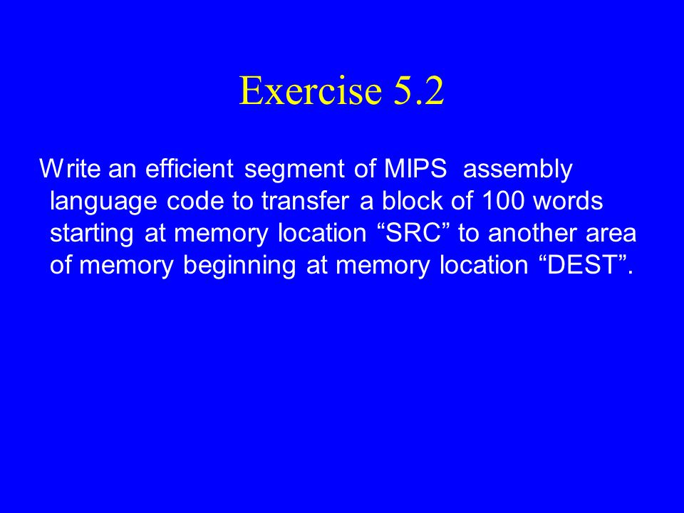 MIPS Assembly Language Programming Bob Britton, Instructor Lesson #10