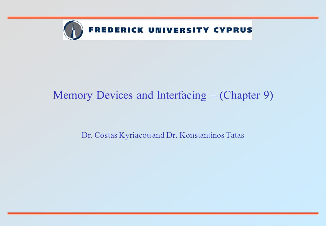 ACOE255Microprocessors I - Frederick University52 Answer: Using a PLD decoding circuit