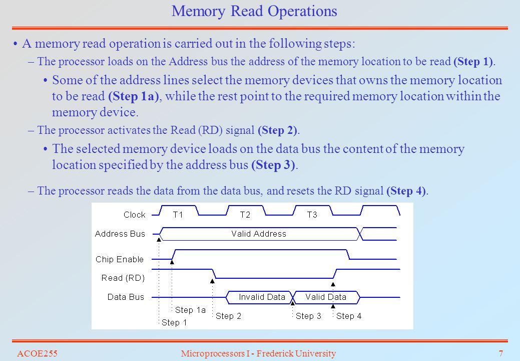 ACOE255Microprocessors I - Frederick University48 Answer: Using comparators