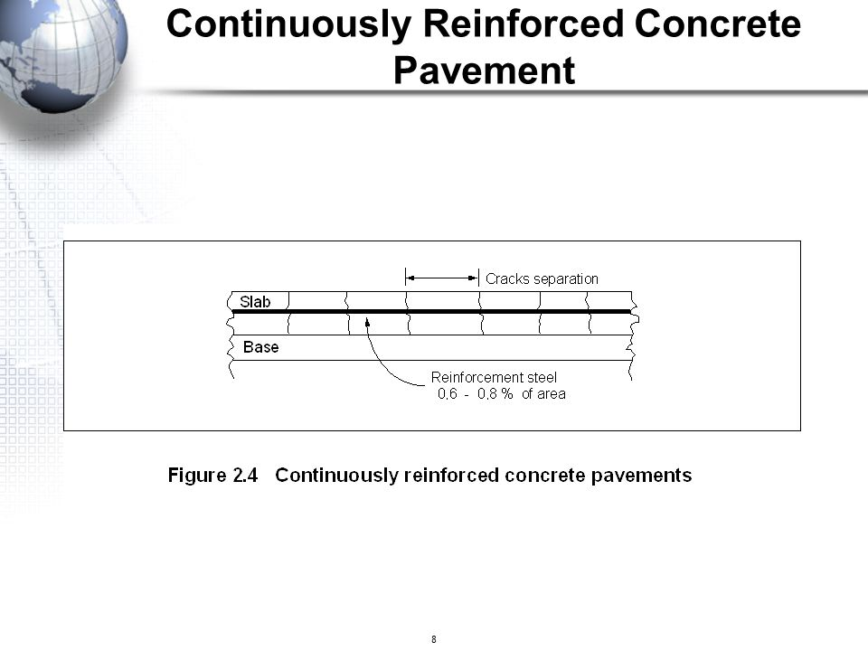 8 Continuously Reinforced Concrete Pavement