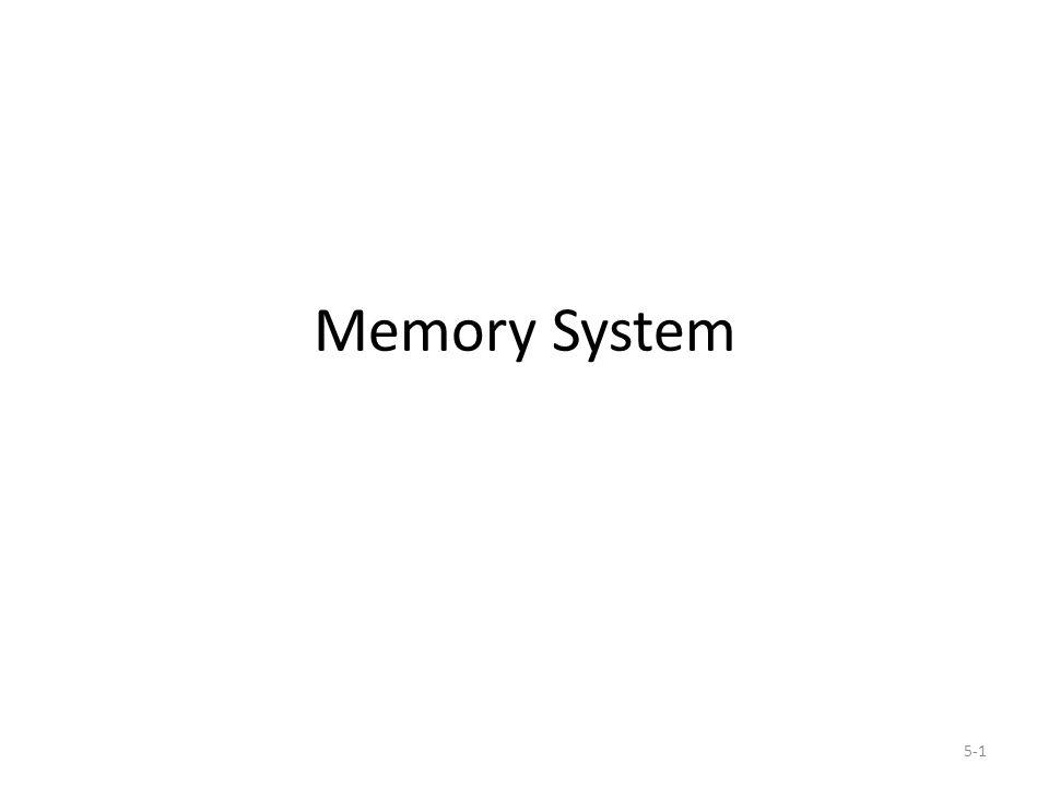5-1 Memory System