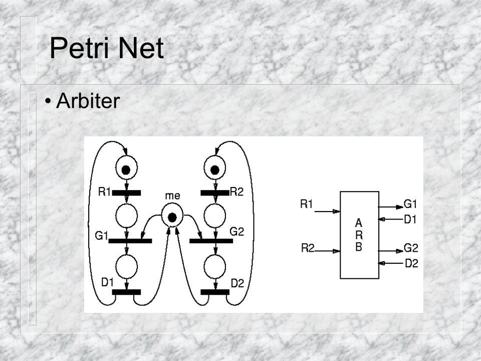 Petri Net Arbiter