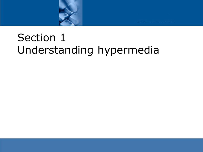 What is Hypertext.
