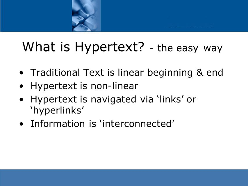 What is Hypermedia.