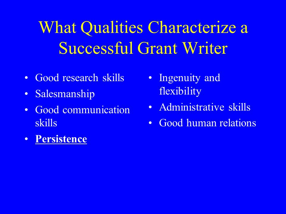What Kind of Grant Should You Write.