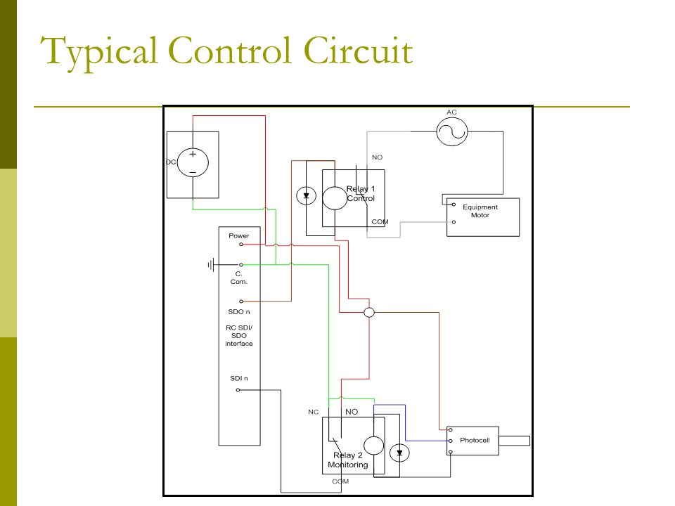 Typical Control Circuit
