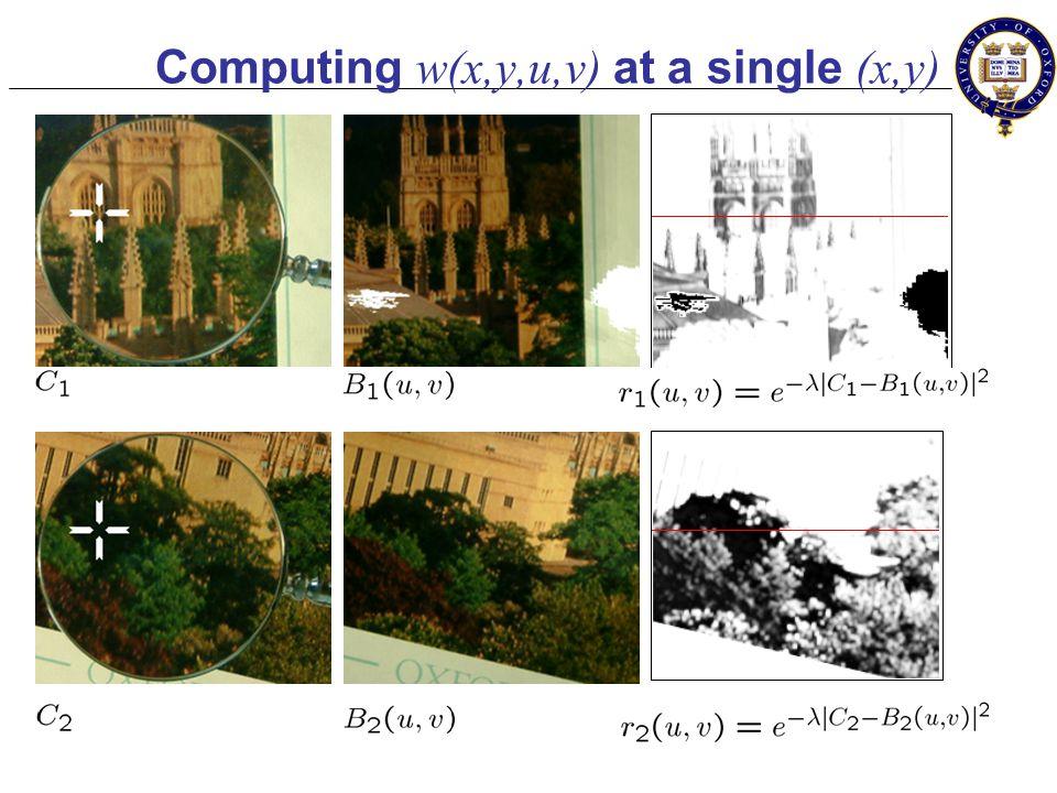 Step 2: Computing w... Input: