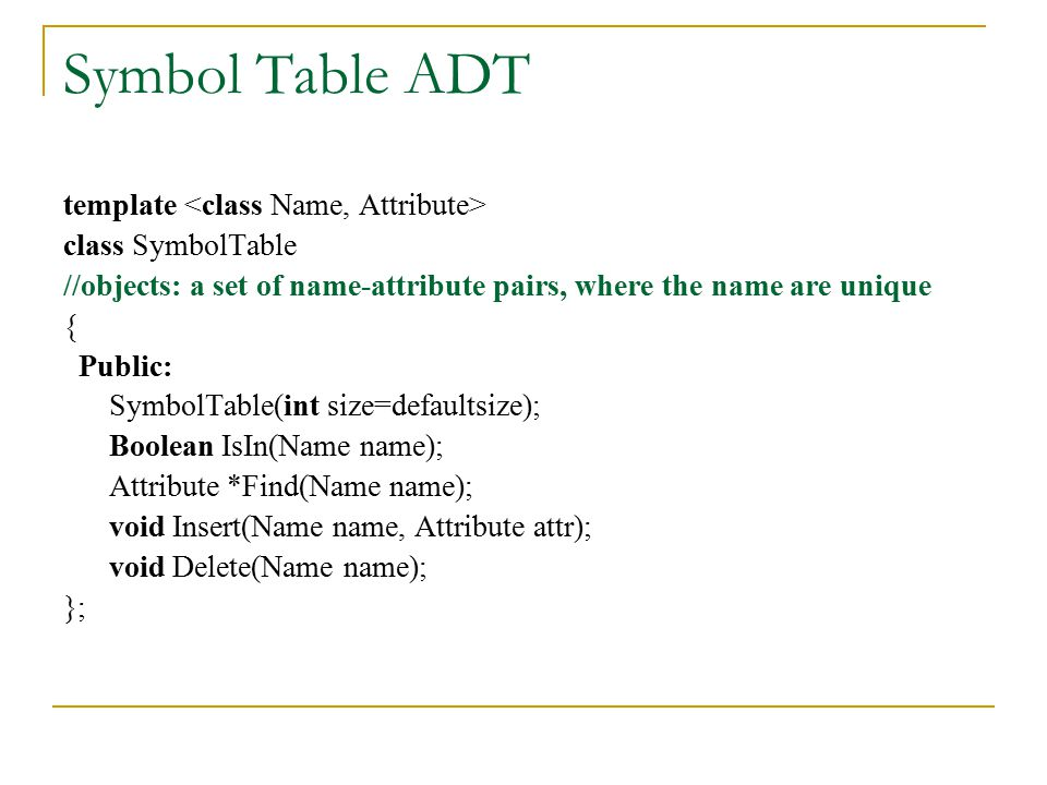 Digit Analysis This method is useful when a static file where all the identifiers in the table are known in advance.