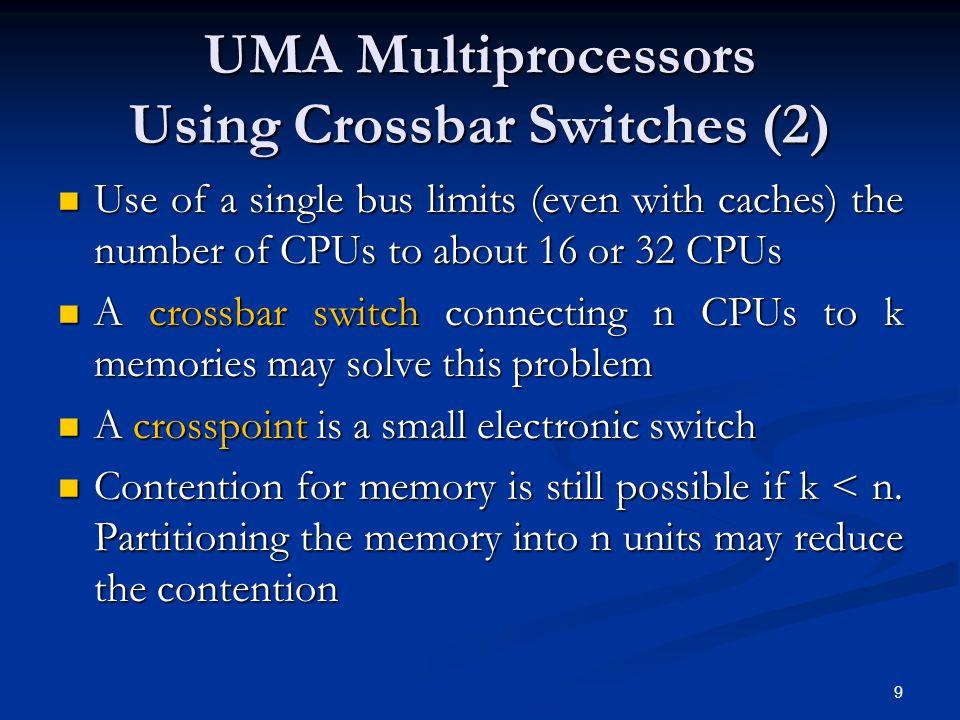 20 Master-Slave Multiprocessors Figure 8-8.A master-slave multiprocessor model.