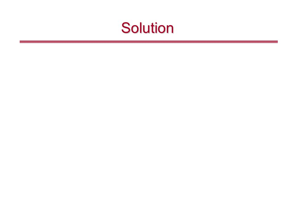 Example 2 Consider a tank with a 500 l capacity that initially contains 200 l of water with 100 kg of salt in solution.