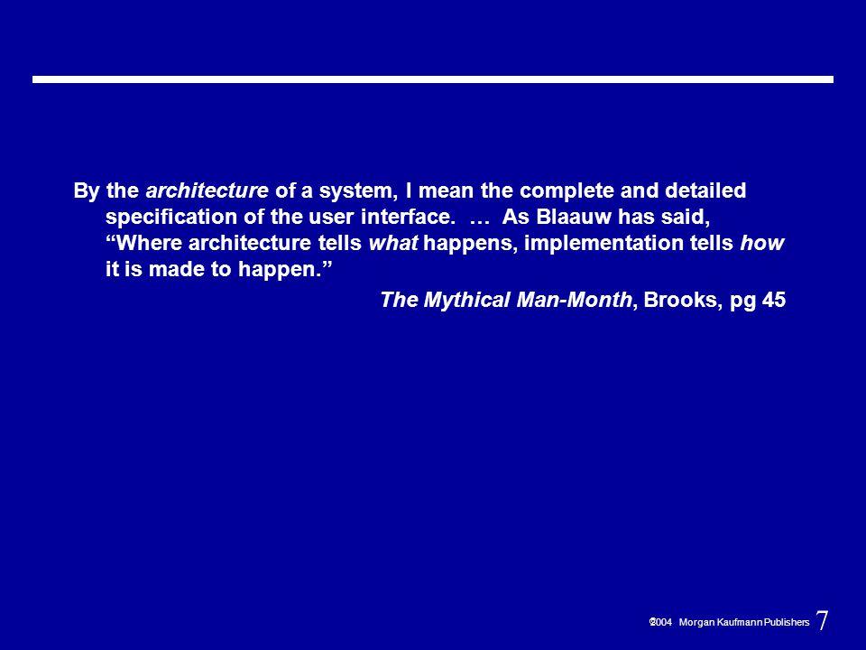 28  2004 Morgan Kaufmann Publishers Registers vs.