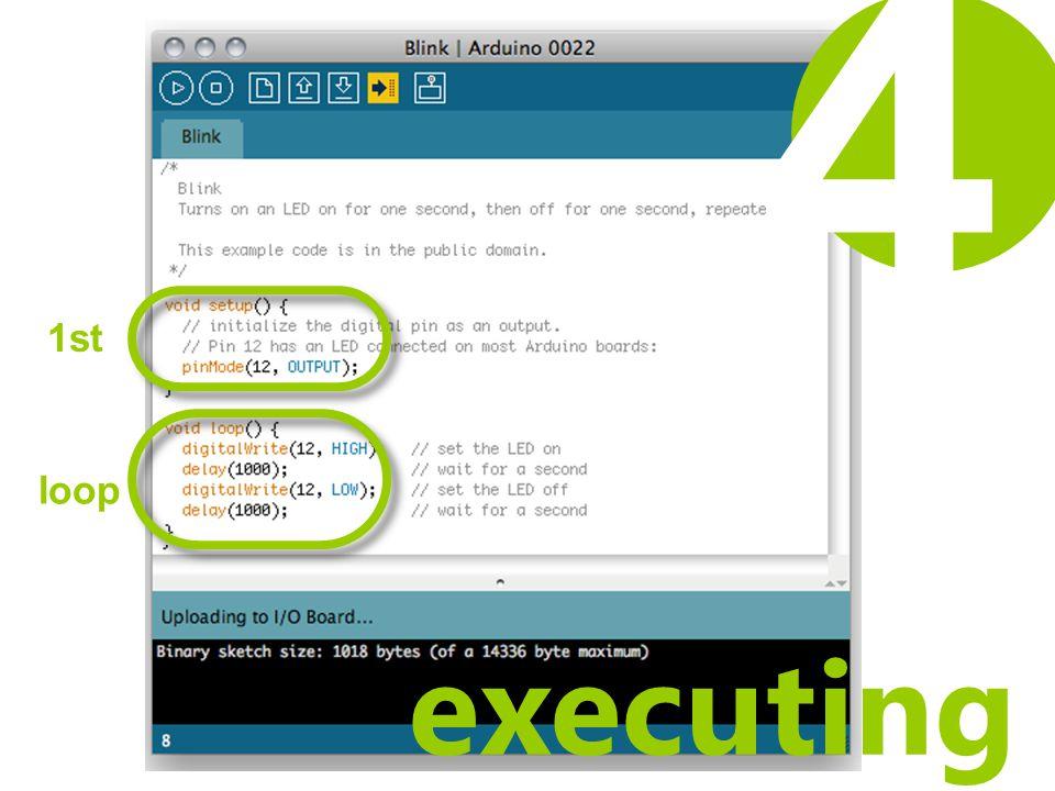 executing 1st loop 4