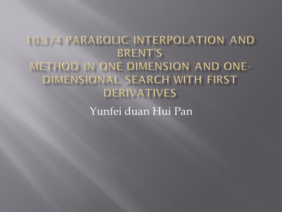 Yunfei duan Hui Pan