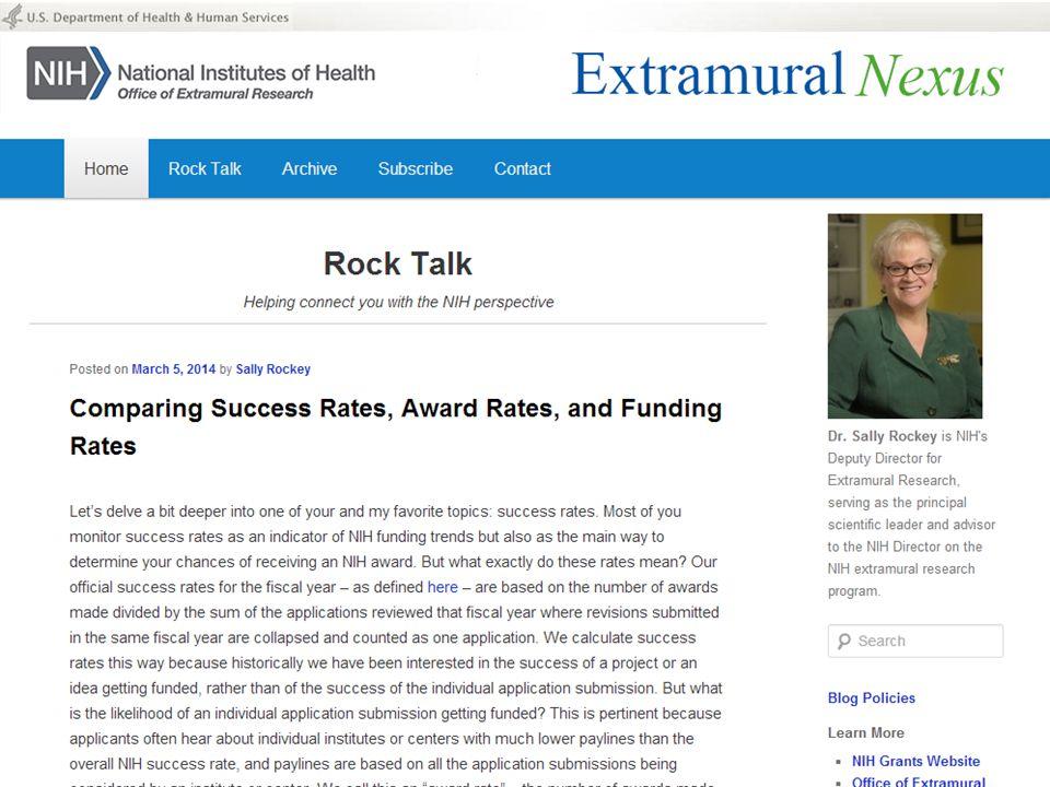 Rock Talk – comparing success rates