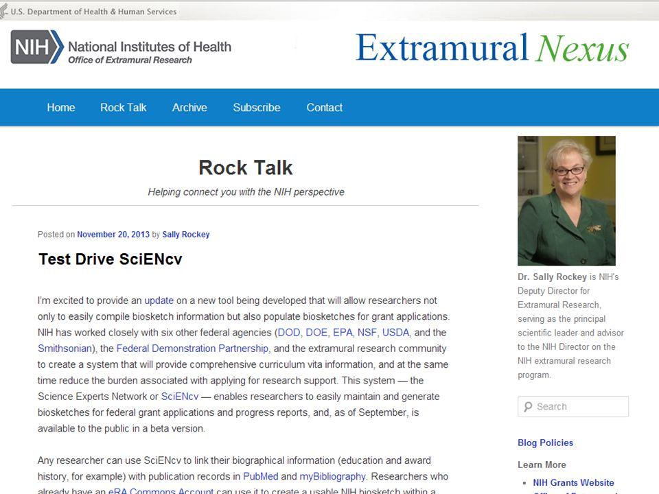 Rock Talk – Test Drive SciENcv