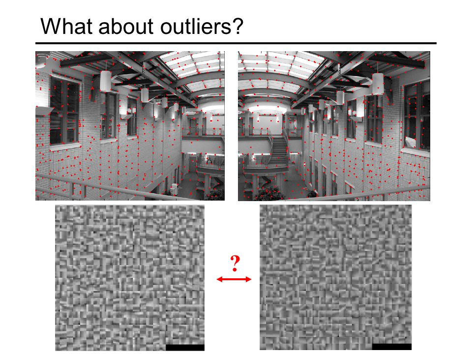 What about outliers? ?