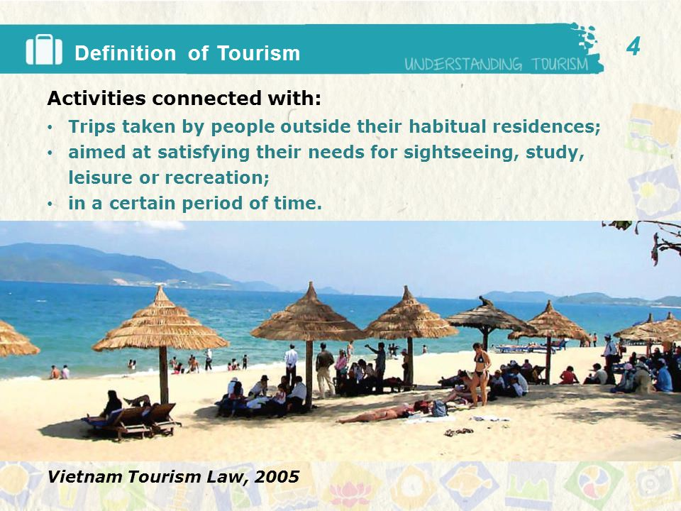Key actors in a tourism cycle 1.Transport 2.Attractions 3.Accommodation 4.Food & Beverage 5.Other key actors??.