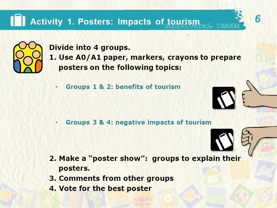 Benefits of tourism.