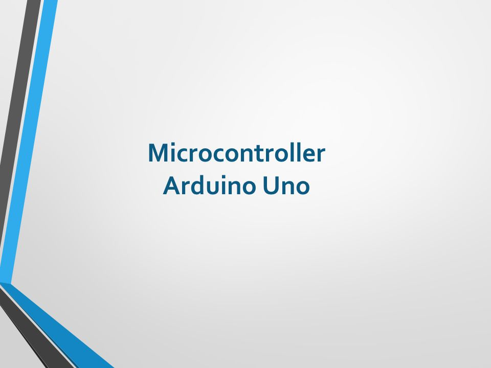 Microcontroller Arduino Uno