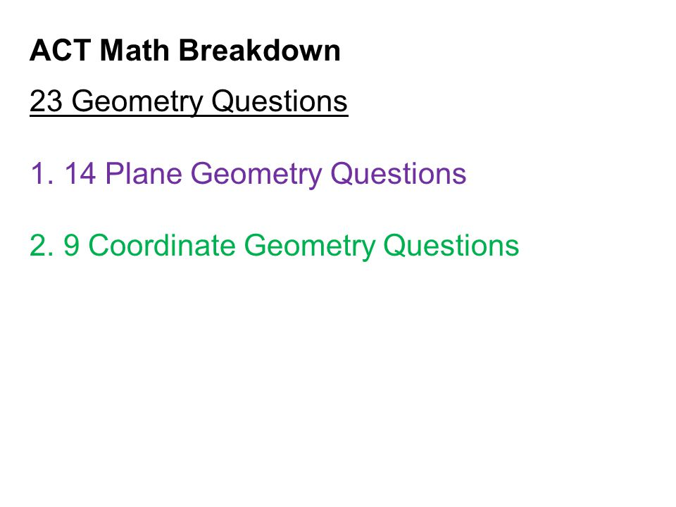 Using Logic to Solve Geometry Problems: What should you do when you see a weird shape on a difficult geometry problem.