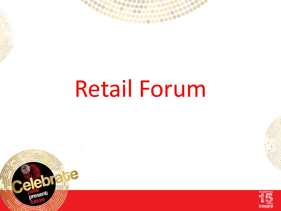 Jonathan Pearn Integra Office Solutions Ltd Your 2013 Retail Support Programme