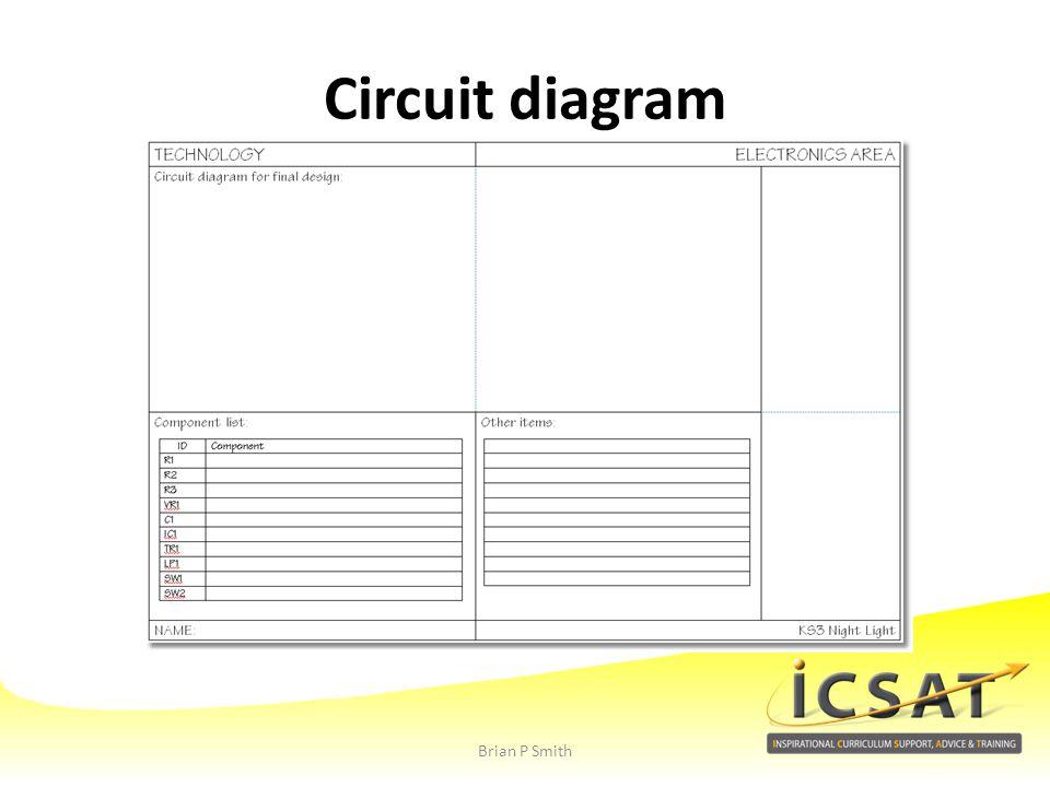 Circuit diagram Brian P Smith