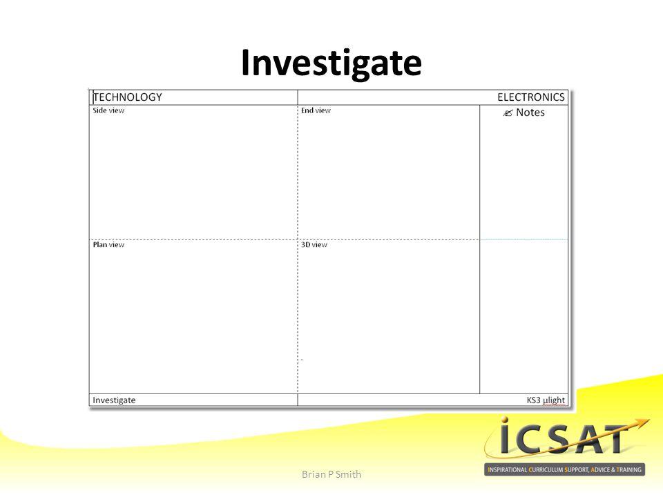 Investigate Brian P Smith