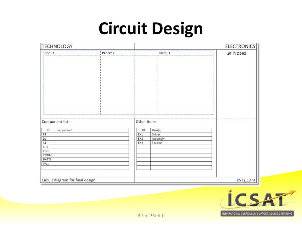 Circuit Design Brian P Smith
