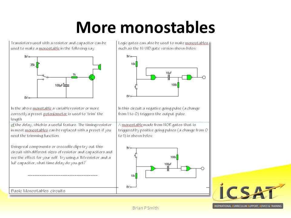 More monostables Brian P Smith