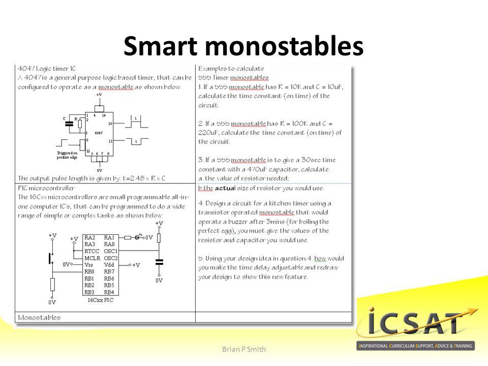 Smart monostables Brian P Smith