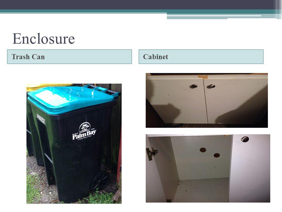 Enclosure Trash CanCabinet