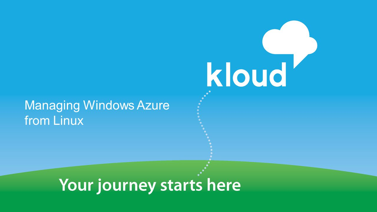 Managing Windows Azure from Linux