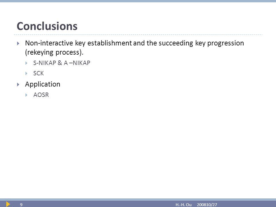 Conclusions 200810/27H.-H.