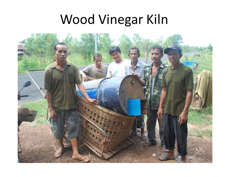 Wood Vinegar Kiln