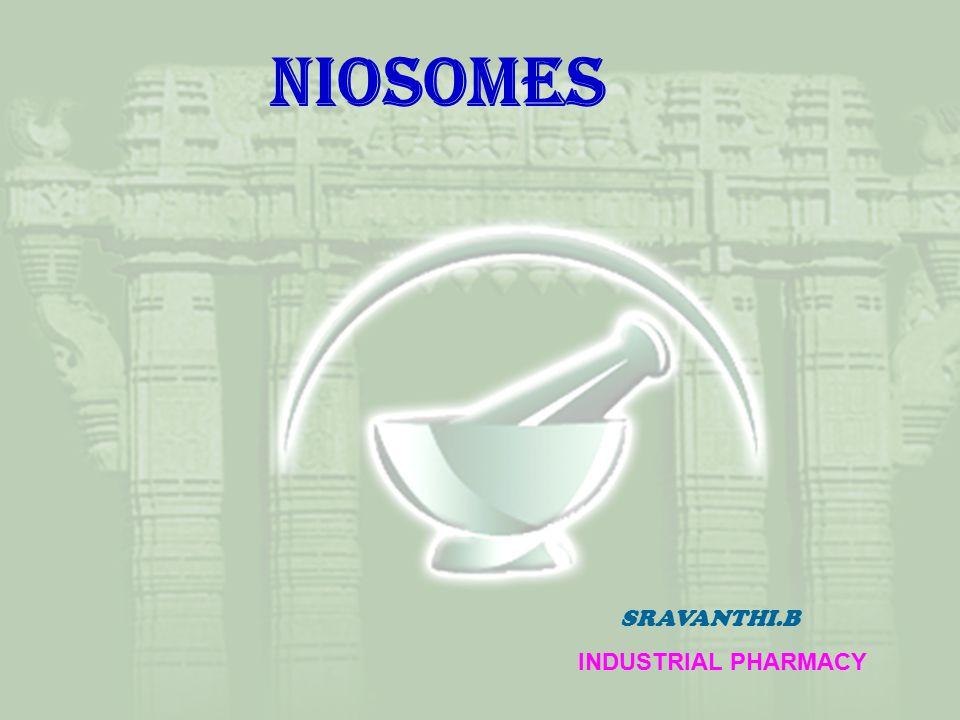 NIOSOMeS SRAVANTHI.B INDUSTRIAL PHARMACY