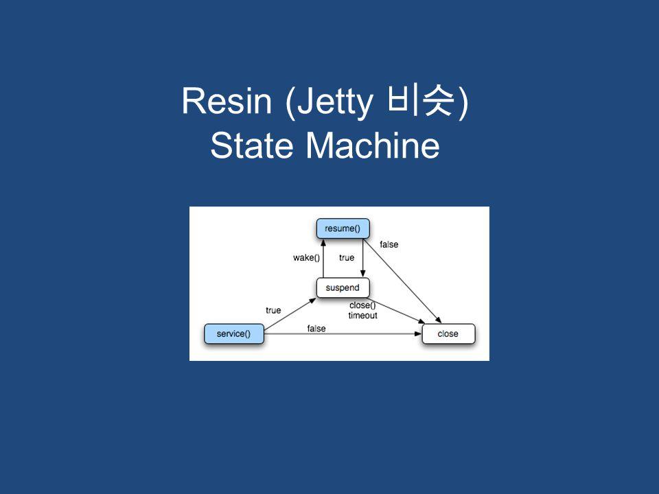 Resin (Jetty 비슷 ) State Machine