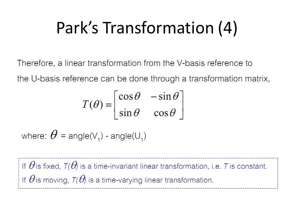Park's Transformation (4)