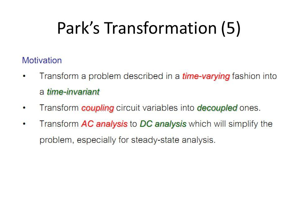 Park's Transformation (5)