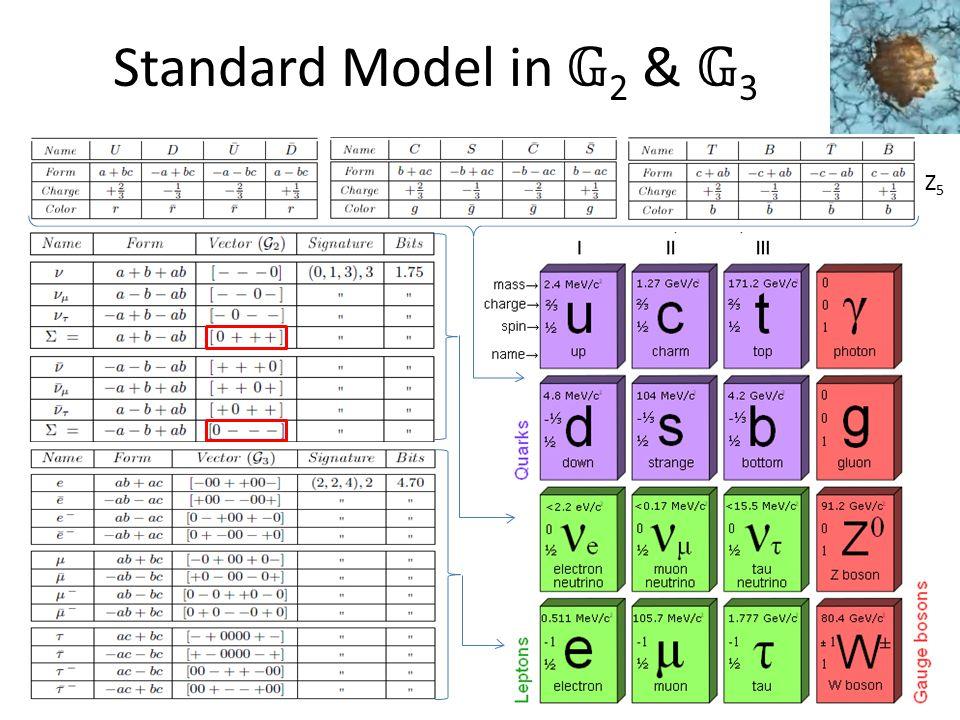 Standard Model in 2 & 3 Z5Z5
