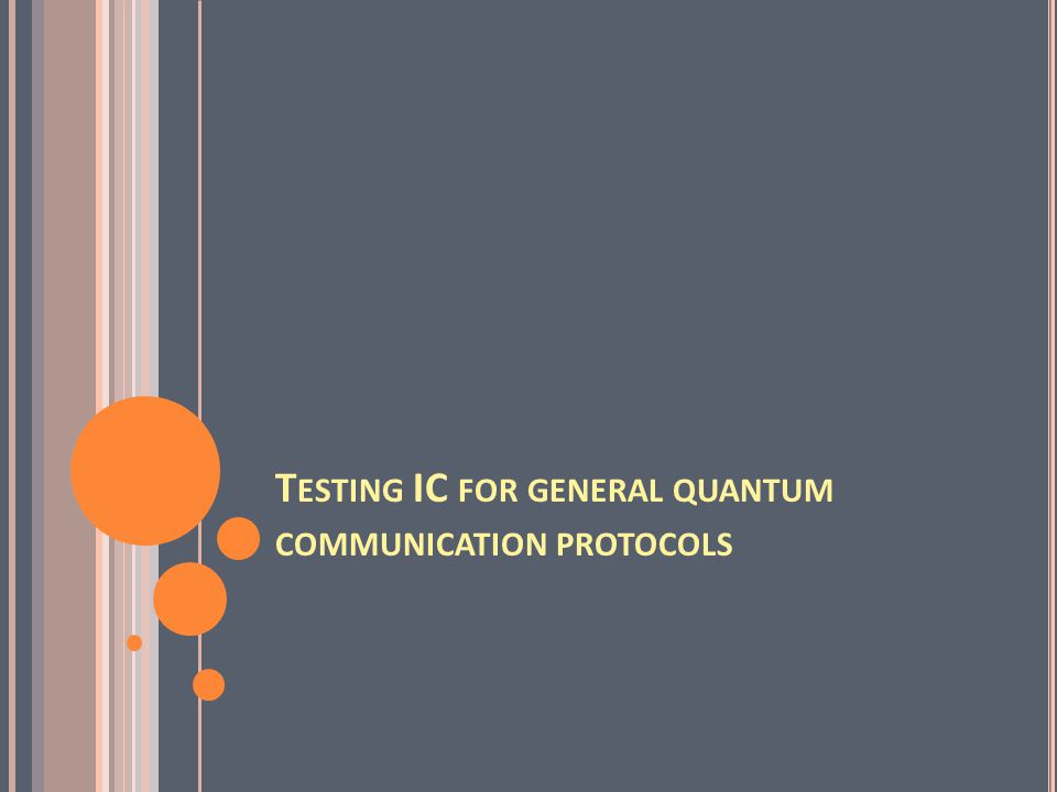 For multi-level quantum communication protocols, IC is satisfied by quantum correlation? saturated?