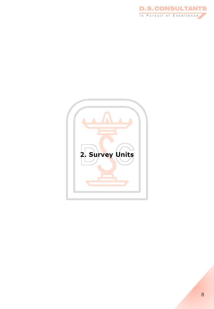 2. Survey Units 8