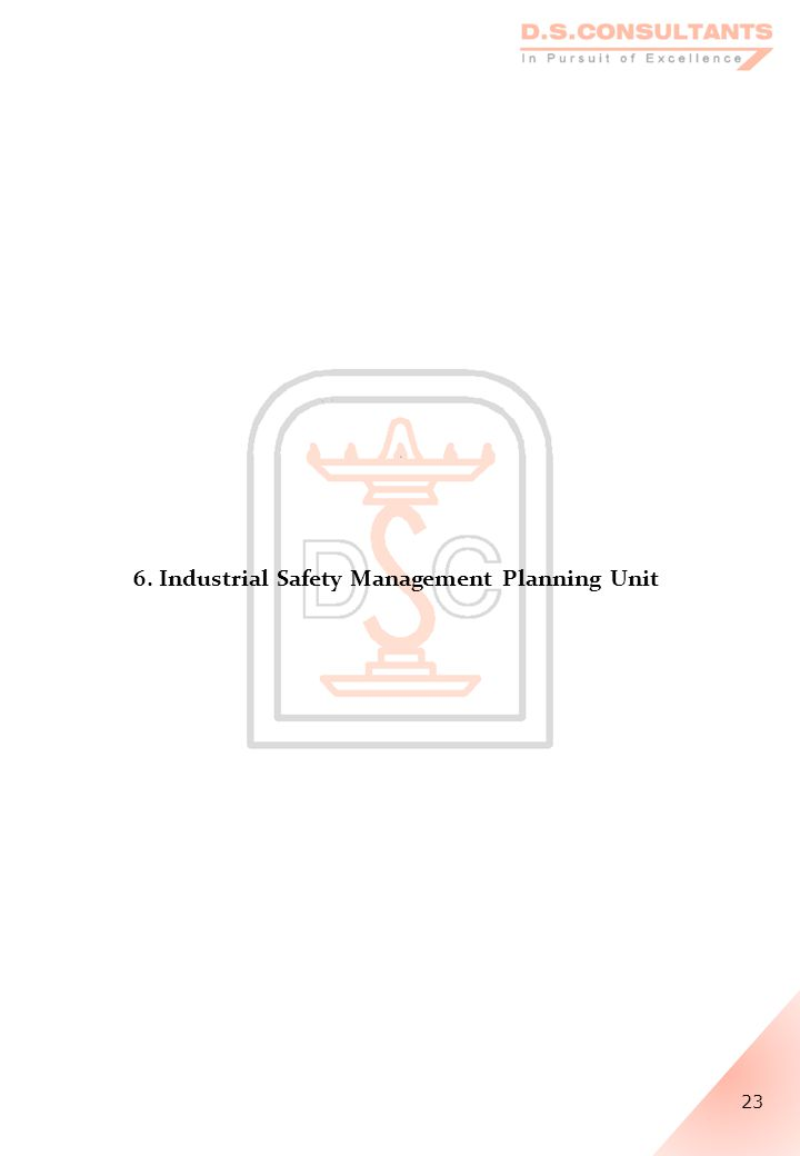 6. Industrial Safety Management Planning Unit 23