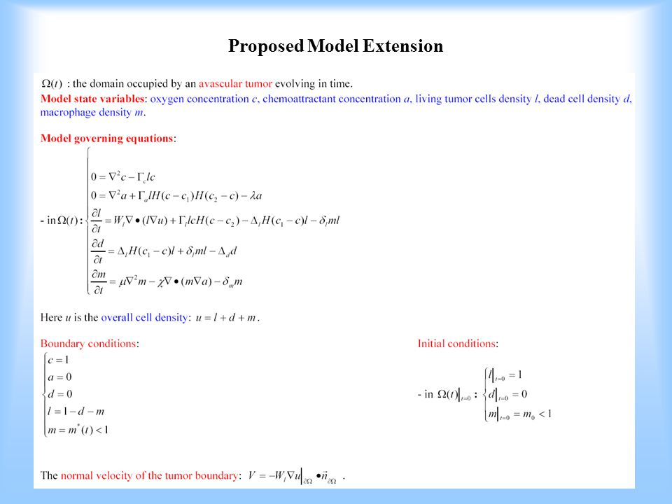 Proposed Model Extension