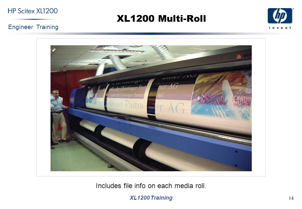 Engineer Training XL1200 Training 15 XL1200 Backlit & Double-sided Dedicated S/W and H/W
