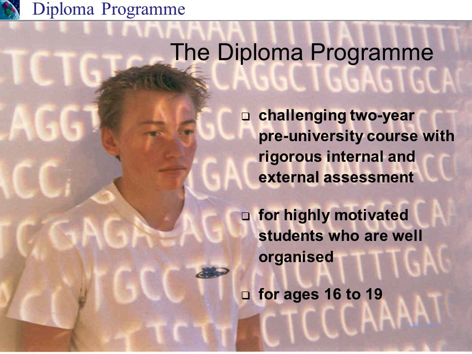  challenging two-year pre-university course with rigorous internal and external assessment  for highly motivated students who are well organised  f
